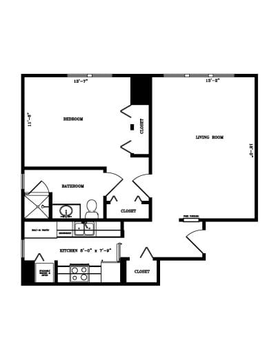 One-bedroom
