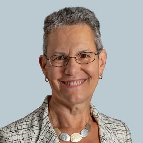 A headshot of Sharon Levine, M.D.